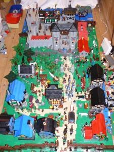 Crusader Castle - mycket liv och rörelse!
