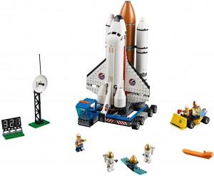 Ett set med fokus på rymdfärjan