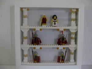En inramning värdig en drottning och en kejsare!
