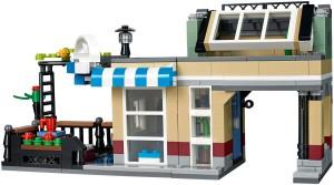 Modell nummer två i form av ett litet café