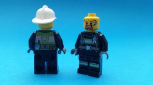 Vad har brandmannen i ansiktet egentligen?