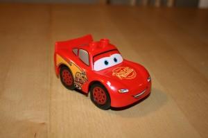 En snygg och detaljerad Blixten McQueen