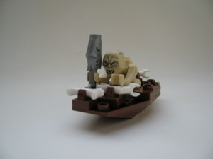 Inget hobbitkött den här gången - bara att paddla hem och käka fisk...
