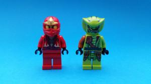 Snygga minifigurer med skarpa tryck...