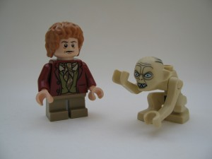 Antagonisterna Bilbo och Gollum