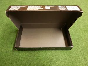 Lyxig låda där man kan förvara setet om det behöver monteras ned.