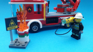 Laddat och klart - nu brandsläckarlek!