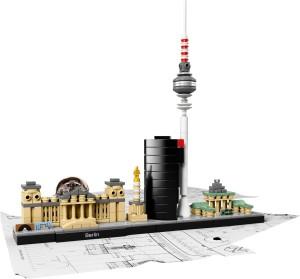 Berlin Skyline i mikroskala