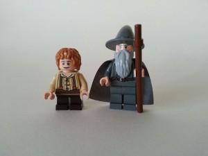 Bilbo och Gandalf