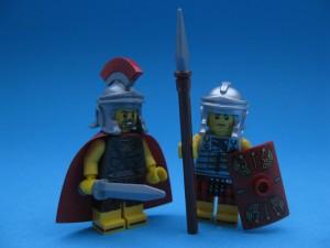 Den romerske centurionen och hans legionär