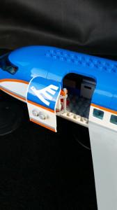 Flygplansdörren