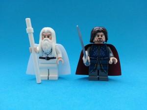 Bästa Gandalf och Aragorn hittills - i samma set!