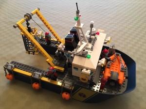 Det färdiga fartyget