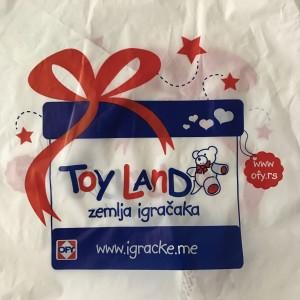 Om du handlar på Toy Land får du en så här fin påse...