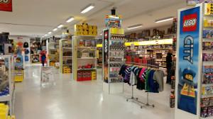 1 000 kvadratmeter upplevelser och LEGO!
