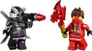 Två suveräna minifigurer