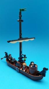 Fullständigt briljant båt med fantastiska sköldar!