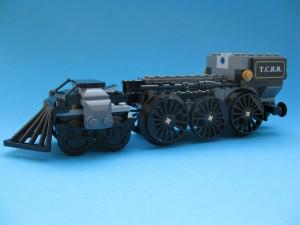 Påse 1: Lokomotivets chassi