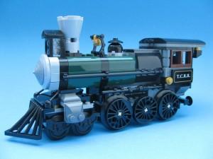 ...och det färdiga lokomotivet!