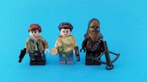 Tre förstklassiga minifigurer!