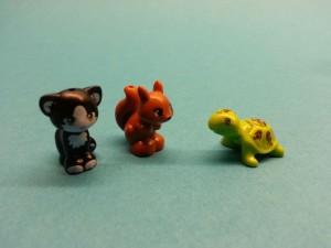 Nya vänner i legolådan
