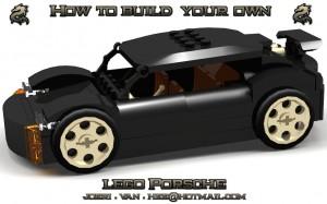 Givetvis har Joeri byggt en klassisk Porsche...