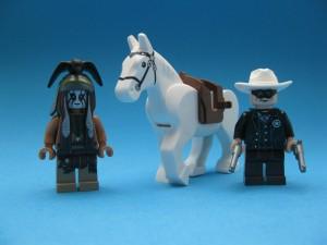 Tonto, Silver och Lone Ranger
