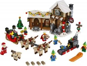 ...en för säsongen rykande färsk Santa's Workshop!!