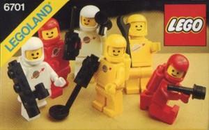 Många små rymdmän