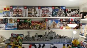 Wall of Fame - några av de exklusiva askar som finns till försäljning!